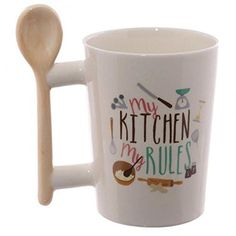 Fun Wooden Spoon Shaped Handle Ceramic Mug Our shaped handle mugs are novel and come in a great range of themes and designs. Made from ceramics they will definitely be a talking point at the dinner table or in the office canteen. Pottery Designs, Mug Designs, Office Canteen, Novelty Mugs, Cool Mugs, Ice Sculptures, Wooden Spoons, Coffee Cups, Drink Coffee