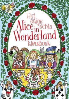 Alice in Wonderland Adult Coloring Book