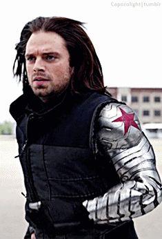 I only do tony stark, steve rogers, bucky barnes, pietro maximoff,. Winter Soldier Bucky, Marvel Comics, Marvel Dc, Dc Movies, Comic Movies, Comic Books, Steve Rogers, Sebastian Stan, Tony Stark