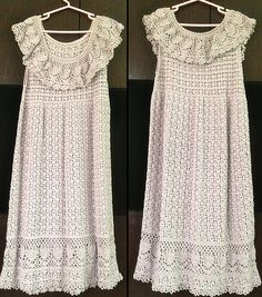 Ravelry: Beauty Silk Cotton Ruffle Dress pattern by Pierrot (Gosyo Co., Ltd)