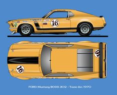 Ford Boss 302 Trans-Am Roush Mustang, Ford Mustang Boss, Ford Gt, Us Cars, Sport Cars, Muscle Cars, Racing Car Design, Vintage Mustang, New Luxury Cars