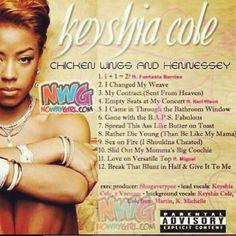 Yo! Keisha Cole Chicken Wings Album Tracklist Is Funny! - NoWayGirl