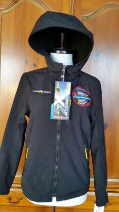 ZeroXposur Jacket Hooded Performance Black Coat Youth 14 /16 Boys Light NWT #ZeroXposur #BasicJacket #Everyday