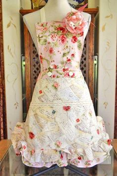 Love this romantic apron