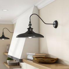 Spartansburg 1-Light Barn Light