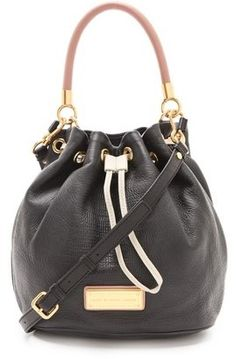 ShopStyle: Marc by Marc JacobsToo Hot To Handle Colorblock Drawstring Bag
