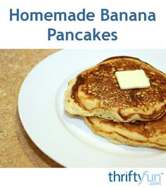 This is a guide about homemade banana pancakes. Banana pancakes are simple to make and delicious. You don't even need to add sugar or syrup to these sweet tasty cakes.