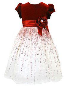 Jayne Copeland Kids Dress, Little Girl Velvet Holiday Dress - Kids Dresses - Macy's