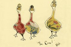 Fabric and Feathers: The Crew