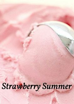 Strawberry Summer Ice Cream