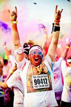 The Color Run- on the bucket list!