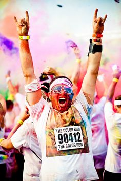 The Color Run- can't wait for Spring!