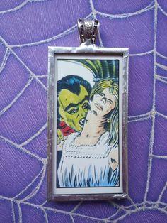Dracula Vampire's Prey House of Horror Sweet by OldeTowneJewelry, $68.00