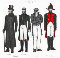 Inspector Javert: costumes by ~Nyranor on deviantART