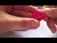 Tomato Rose Flower - Beginners Lesson 12 By Mutita The Art Of Fruit And Vegetable Carving Tutorial Fruit Flowers, Clay Flowers, Jumping Clay, Clay Videos, Fruit And Vegetable Carving, Rose Tutorial, Ceramic Clay, Clay Tutorials, Cold Porcelain
