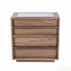 Asmund Dresser. Made with Walnut wood and 8mm clear glass.  http://www.franceandson.com/asmund-dresser.html