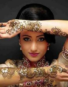 Pakistani 'Mehendi'...or Henna Art.....