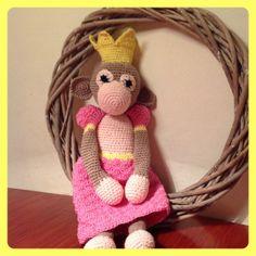 Prinses aapje  www.facebook.com/handmadebyaleid