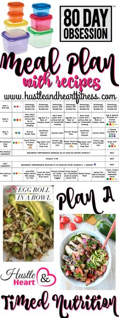 Week two meal plan is in place! I am LOVING the workouts - timed nutrition not as much but I start each week with a plan and aim to do my best to follow it! Ov