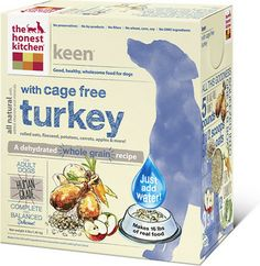 The Honest Kitchen Keen Organic Whole Grain Dog Food Natural Human Grade Dehydrated Dog Food Turkey 4 lbs Makes 16 lbs ** See this great product. Best Dog Food, Dry Dog Food, Online Pet Supplies, Dog Supplies, Top Dog Food Brands, Whole Food Recipes, Dog Food Recipes, Dehydrated Dog Food, Whole Grain Foods