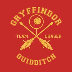 Awesome 'Gryffindor+-+Team+Chaser' design on TeePublic!