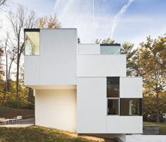 NaCl- Contemporary Tetris House, Maryland by Architect David JamesonDesignRulz4 June 2012Architect David Jameson completed in November 2011, this contemporary home is located in Bethesda, Maryland, USA. NaCl house h... Architecture