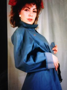 Mackintosh Raincoat, Blue Raincoat, Rubber Raincoats, Macs, Rain Wear, Women Wear, Satin, Women's Fashion, Texture