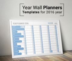 1000+ images about calendars on Pinterest | Wall planner, Desk ...