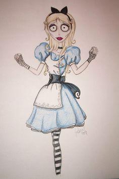 Imagini pentru drawings tim burton
