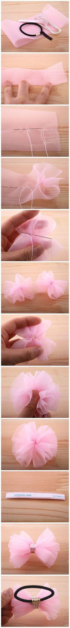 Diy Beautiful Hair Clip | DIY & Crafts