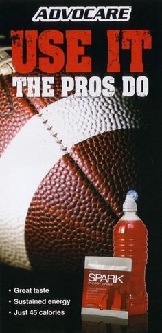 AdvoCare Spark! Use it...the pros do! Ask me about it! www.advocareeasttn.com