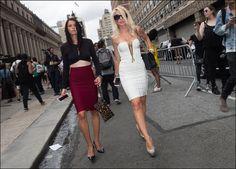 The Urban Vogue: After Herve Leger Show…NYFW Sept. 2015