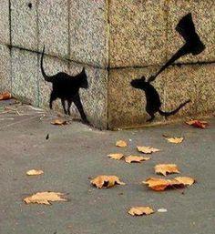 Love street art...