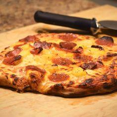 New York Style Pizza Dough - Indiana Mommy - Cooking From the Heart Land New York Style Pizza Dough Recipe, Best Pizza Dough, Good Pizza, Heart Land, Favourite Pizza, Thin Crust, Pizza Recipes, Italian Recipes, Indiana