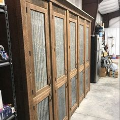 Rustic Industrial Vanity - Reclaimed Barn Wood Vanity w/Sliding Doors - Nannette Despain added a photo of their purchase - Rustic Barn, Barn Tin, Reclaimed Barn Wood Vanity, Barn Wood, Rustic Bathroom Vanities, Rustic Bathroom, Barn Wood Cabinets, Rustic Style Furniture, Reclaimed Barn Wood