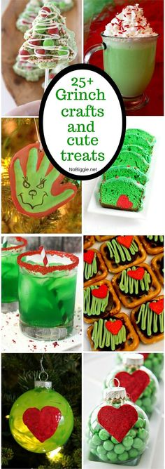25+ Grinch crafts and cute treats | NoBiggie.net