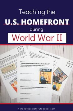 Enhance your teaching with this comprehensive United States Homefront during WWII Station Lesson! This is a complete 55-minute station lesson on the US homefront during World War II. Not only will this lesson lead your students to master critical thinking skills, but it will make your life much easier. What are you waiting for? Add it to your cart to make this year a breeze.