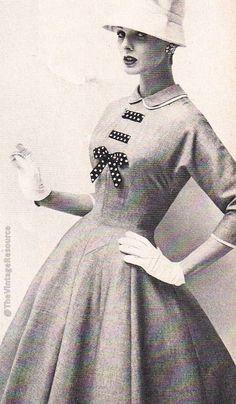 #50's fashion | Toni Todd - 1957