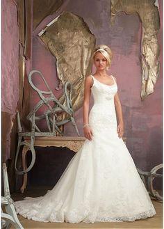94d60c7b98fb66 Alluring Organza Scoop Neckline Raised Waistline Mermaid Wedding Dress   mermaid  weddingdress  weddinggown