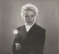 Man Ray 1890 - 1976 JACQUELINE LAMBA À LA LANTERNE, CA. 1934 SILVER PRINT. Silver print. 12.5 by 13.2 cm, 4 7/8 by 5 1/8 in.