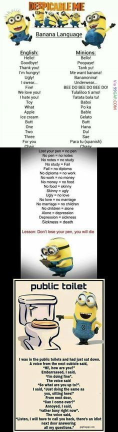 Best Funny Pictures Of Animals With Captions Minions Quotes Ideas Funny Minion Memes, Minions Quotes, Funny Jokes, Minion Sayings, Funniest Jokes, Minion Humor, Funniest Things, Funny Tweets, Cheer Quotes