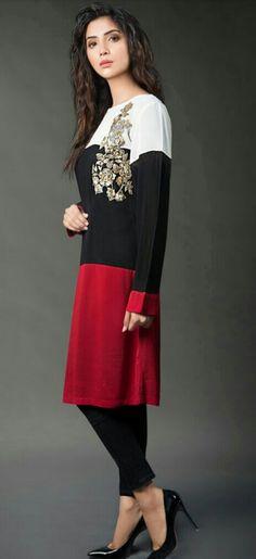Women S Fashion Chain Crossword Simple Pakistani Dresses, Pakistani Dress Design, Pakistani Outfits, Pakistani Bridal, Stylish Dresses For Girls, Stylish Dress Designs, Frock Fashion, Fashion Dresses, Fashion Pants