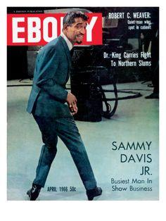 Historic Ebony Magazine Covers April 1966