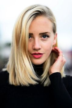 Stylish Long Bob Hairstyles to Try in 2016 : They're not gray hairs. They're wisdom highlights.