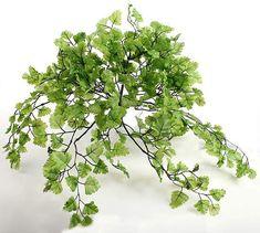 Artificial Maidenhair Fern Greenery Bush