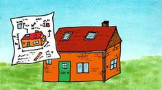 'Wij bouwen een huisje' Een kleuterliedje van Tijl Damen passend bij de thema's bouwen, huizen, wonen.