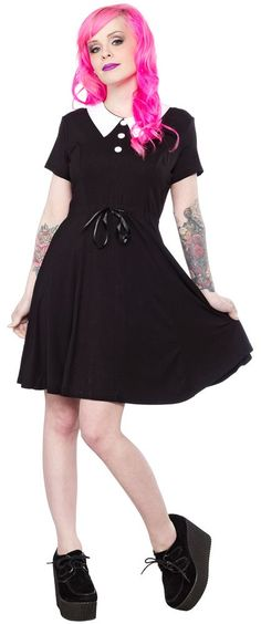 KILLSTAR DOLL DRESS $55.00  This is a perfect base for my Wednesday Addams costume