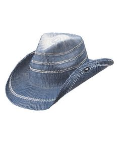 Love this Blue Stadler Cowboy Hat on  zulily!  zulilyfinds Cowgirl Hats 3a7b129ed69a