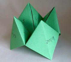 Paper finger game