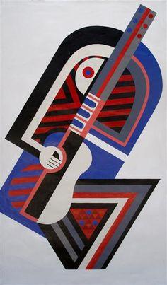 Ten Guitars by Paratene Matchitt Nz Art, Maori Art, Logo Design, Graphic Design, First Nations, New Zealand, Guitars, Abstract Art, Paintings